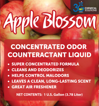 Apple Blossom Concentrated Odor Counteractant