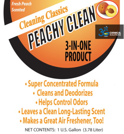Peachy Clean & Berry Clean Deodorant Cleaners