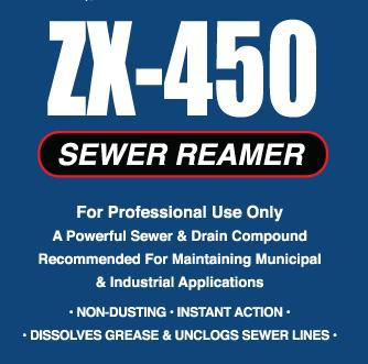 ZX-450 Sewer Cleaner